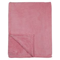 Buy little home at John Lewis Fleece Throw Online at johnlewis.com Fleece Throw, Little Houses, John Lewis, Kids Room, Pink, Home, Tiny Houses, Room Kids, Small Homes