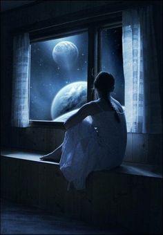 Dream night view