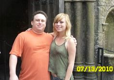 Uncle Jonny with his eldest niece...at Universal Studios (Orlando)