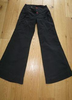 A vendre sur #vintedfrance ! http://www.vinted.fr/mode-femmes/autres-pantalons/15798042-pantalon-noir-evase-be-you-k