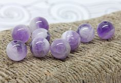 Amethyst by @branchbeads  by Sarah Robertshaw on Etsy