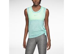 Love that this is slightly sheer, great color.  ☆ Nike Club Mezzo Tie Women's Training T-Shirt ☆  $40