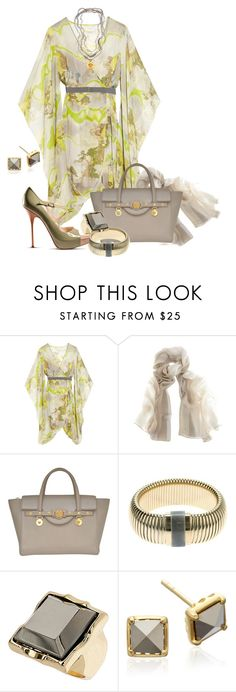 """""""It's a Wrap"""" by kelley74 ❤ liked on Polyvore featuring Matthew Williamson, Versace, Lanvin, Topshop and John Galliano"""