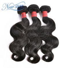 8A Brazilian Body Wave 3 Bundles - Made with Brazilian virgin hair, which is 100% unprocessed and has not been permed and treated like straightening. Cut from one donor in Brazil, it is the best remy hair. We have off black, medium brown and n dark brown colors options, there are also a variety of lengths from 10 to 34 inches. For our loyal customers, we offer them wholesale price. Brazilian virgin hair body wave is one of our best-selling hair bundles.