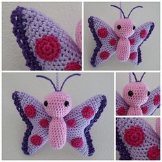 Mesmerizing Crochet an Amigurumi Rabbit Ideas. Lovely Crochet an Amigurumi Rabbit Ideas. Crochet Amigurumi, Amigurumi Patterns, Crochet Dolls, Knitting Patterns, Crochet Patterns, Crochet Butterfly Pattern, Love Crochet, Crochet For Kids, Crochet Flowers