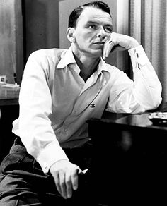On the set of The Frank Sinatra Show (1957-1958)