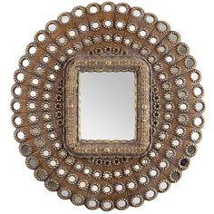 Golden Medallions Mirror