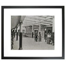 TransitMuseumStore.com South Ferry Station, 1905 Framed Print