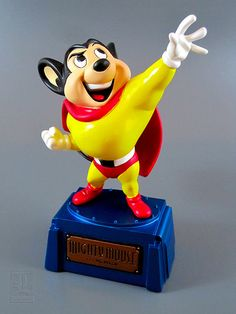 Electric Tiki MIGHTY MOUSE statue