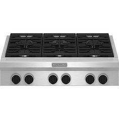 "KitchenAid Pro-Style® 36"" Gas Cooktop"