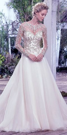 Must See Maggie Sottero Lisette Bridal Collection ❤ See more: http://www.weddingforward.com/maggie-sottero-lisette-bridal-collection/ #weddings