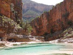 Paradise Valley, Morocco / río Tamraght, Marruecos