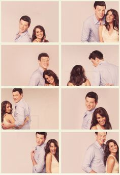 Lea Michele and Cory Monteith I could cry
