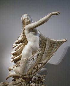 Raffaelle Monti's veiled vestal virgin