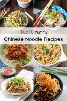 {China}10 yummy Chinese noodle recipes