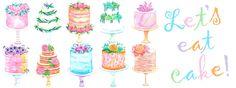 Let's eat cake! by Nadya Krupina