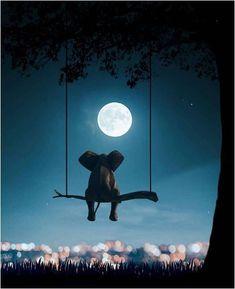 like an elephant. Pakse, Elephant Walk, International Artist, Cat Art, Contemporary Art, Scene, Fine Art, Concert, Nighty Night