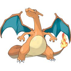 Charizard - #006 - Fire and Flying Type