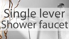 Shower single lever tap