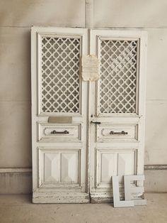 Antique pair door アンティークペアドア/パディントンホームデコレーション