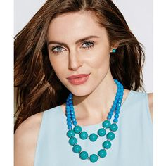 Twice-as-Nice Necklace and Earring Gift Set  Gorgeous and perfect for Summer ❤️