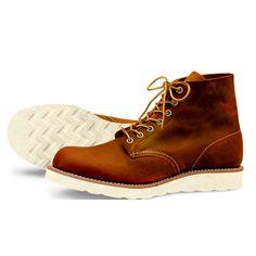 online store 05d6d dcbeb Red Wind 9111 Round Toe (Copper Rough   Tough Leather) Stil Gentleman, Skor