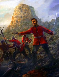 Last stand of the 24th Regiment of Foot at the Battle of Isandlwana, Anglo-Zulu War