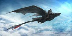 Dragon Rider Guard on his Obsidian Fury. Httyd Dragons, Dreamworks Dragons, Disney And Dreamworks, Croque Mou, Toothless Wallpaper, Night Fury Dragon, Dc Anime, Hiccup And Toothless, Dragon Rider