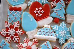 Christmas Cookies Print your favorite recipes on a postcard in full color and use them as stocking stuffers! http://www.colorprintingcentral.com/postcard-printing.html