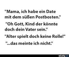 Mama, ich habe ein Date mit dem süßen Postboten - #alter #mutter #postbote #tochter #vater