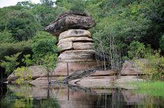 Arquipélago de Anavilhanas (14.01.2012) – Pedra do Sanduíche