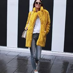 There's one advantage about fall weather in cologne ☔️ i'm already able to wear all the new collections from , shop my new fav' coat now in store 💛💥👌🏼👊🏽 Fall Weather, Boutique, Mantel, Fur Coat, Women Wear, Winter Jackets, Shop My, Cologne, My Style