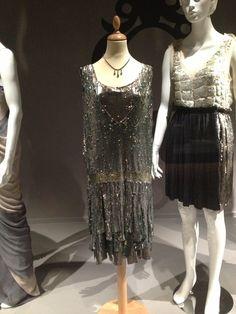 1925 evening dress, ulster museum