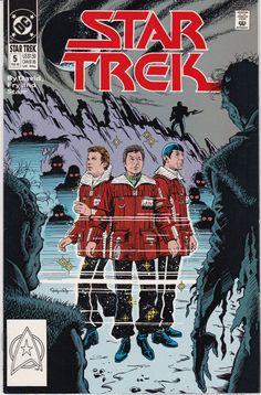 EUC Star Trek DC Comic Book 5 Feb 1990 vintage collectible Comic book has been in sleeve since purchase. Dc Comic Books, Comic Book Covers, Comic Art, Comics Online, Dc Comics, Star Trex, Star Trek Original Series, Star Trek Universe, Star Trek Tos
