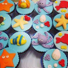 lembrancinhas fundo do mar biscuit - Pesquisa Google
