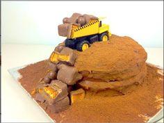 DUMP TRUCK - Cake Recipe