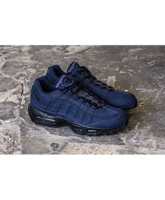Footwear For Men · Nike Air Max 95 Black Obsidian Trainer 026ea5baf