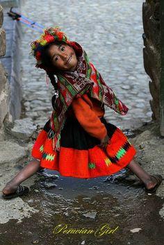 Native girl...
