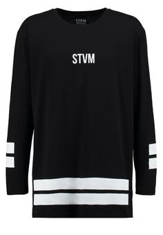 SYSTVM - SCRIPT  - Langarmshirt - black