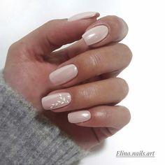 Nail design here! - Nageldesign - Nail Art - Nagellack - Nail Polish - Nailart - Nails - Nagel - Nail design here! Neutral Nails, Nude Nails, Acrylic Nails, Marble Nails, Subtle Nails, Coffin Nails, Bridal Nails, Wedding Nails, Hair And Nails