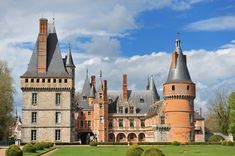 The Château de Maintenon is situated in the commune of Maintenon in the Eure-et-Loir département of France. It is best known as being the private residence of the second spouse of Louis XIV, Madame de Maintenon. The castle has been classified as a Monument historique since 1944 by the French Ministry of Culture