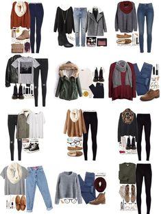 Variado moda invierno