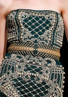 Balmain Fall 2012 RTW - PFW #fashion