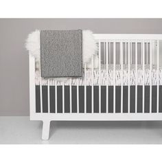 Shop OLLI+LIME for Modern Baby Bedding. Black and White Crib Bedding & Baby Blankets to help you create a Perfect Modern Nursery. Gender Neutral Crib Bedding for the Modern Parent. Girls Bedding Sets, Nursery Bedding Sets, Crib Sets, Blush Nursery, Nursery Crib, Painting A Crib, White Crib Bedding, Bumper Pads For Cribs, Modern Crib