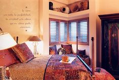 southwestern home decorSouthwest Interior Design Ideas sVSiBEQo Southwestern Bedroom Decor, Southwestern Home, Southwestern Decorating, Mexican Style Bedrooms, Indian Inspired Bedroom, Dream Decor, Santa Fe, House Design, Interior Design