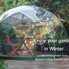2019 new product transparent garden dome garden cottage outdoor dome house Terrace Design, Garden Design, Garden Cottage, Home And Garden, Garden Igloo, Dome House, Green Materials, Jacuzzi, Glamping