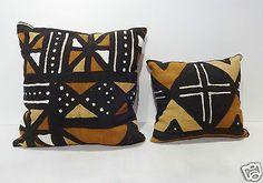 Malian bogolan mud cloth pillows #followitfindit