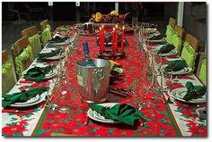 Como decorar a mesa de natal - http://dicasdecoracao.net/como-decorar-a-mesa-de-natal/