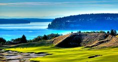 #14 at Chambers Bay Golf Course - Location of the 2015 U.S. Open Tournament