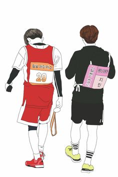 BTS Suga & Jimin simple fanart